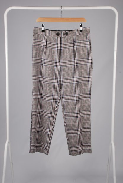George Houndstooth Cropped Trousers - Size 12 - Front