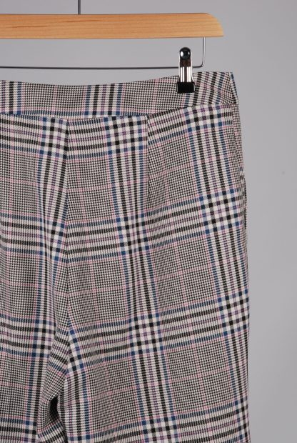 George Houndstooth Cropped Trousers - Size 12 - Back Detail