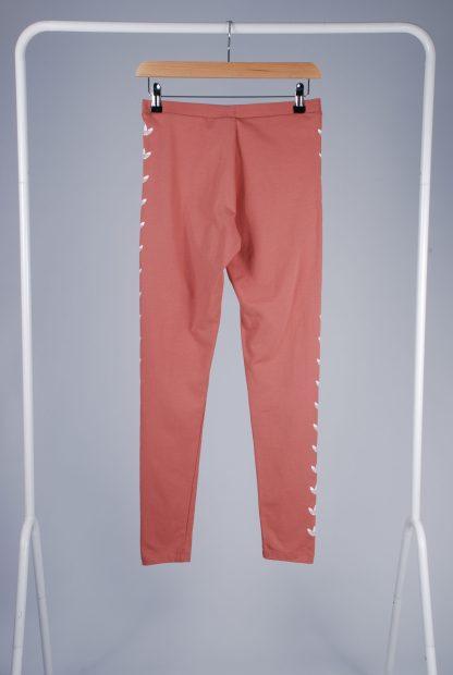 Adidas Pink Jersey Leggings - Size 10 - Back
