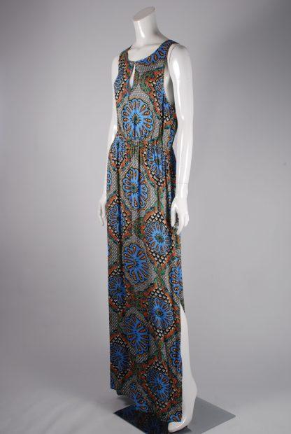 MINKPINK Abstract Pattern Maxi Dress - Size M - Side
