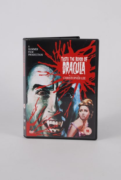 Taste The Blood Of Dracula - DVD - Front