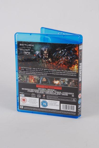Predator 3D - Blu Ray - Back