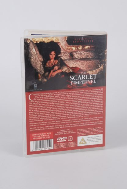 The Scarlet Pimpernel - DVD - Back