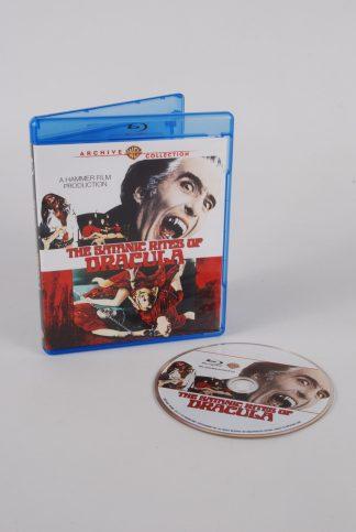 The Satanic Rites Of Dracula - Blu Ray - Disc