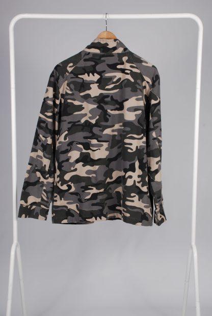Topman Grey Camo Jacket - Size M - Back