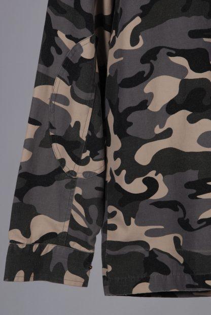 Topman Grey Camo Jacket - Size M - Back Hem