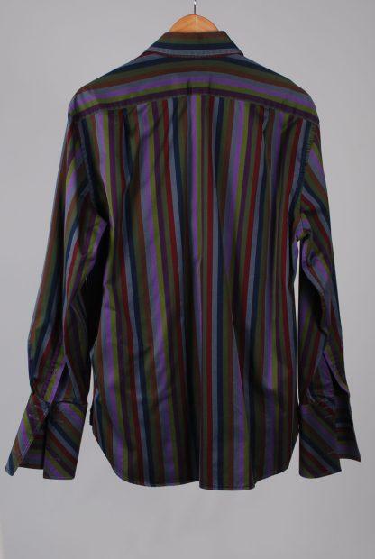 Ted Baker Vertical Stripe Shirt - Size M/L - Back