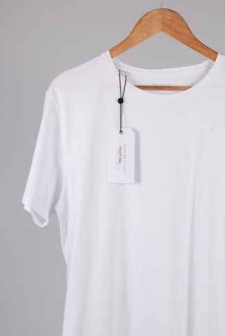 Selected Homme White Tee - Size L - Front Detail