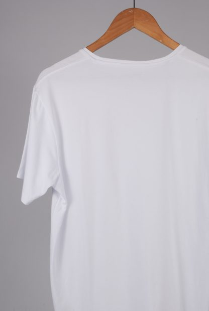 Selected Homme White Tee - Size L - Back Detail