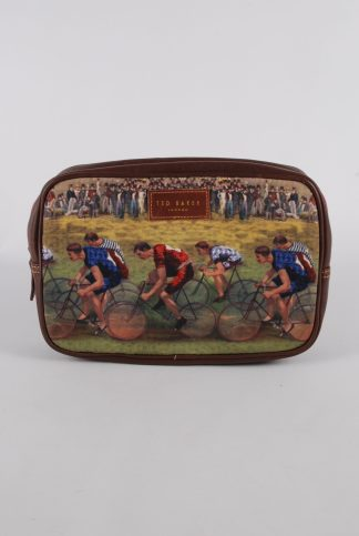 Ted Baker Cycling Theme Wash Bag - Front