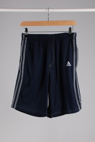 Adidas Jeans Effect Jersey Shorts - Size S - Front