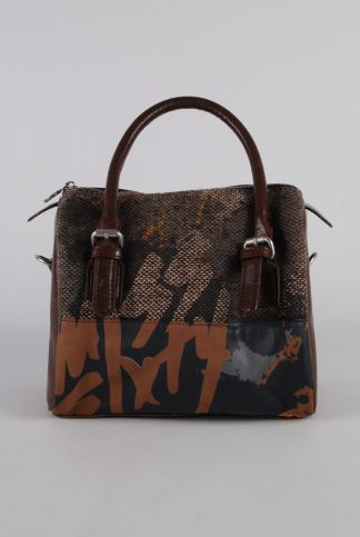 Miss Sixty Square Panelled Handbag - Front