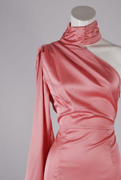 Nasty Gal Pink Dress - Size 10 - Front Detail