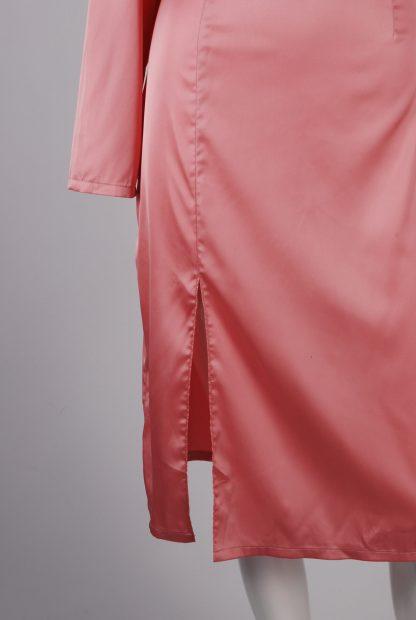 Nasty Gal Pink Dress - Size 10 - Front Hem