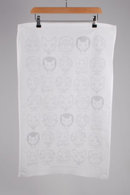 Purr-Aid 2021 Tea Towel - Back