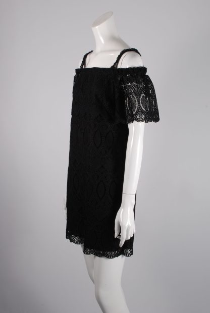 White House Black Market Lace Mini Dress - Size 10 - Side