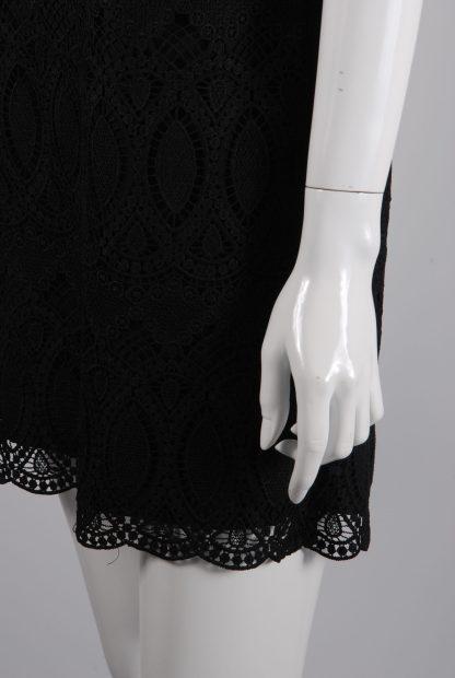 White House Black Market Lace Mini Dress - Size 10 - Side Hem