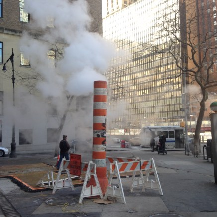 Classic New York steam.