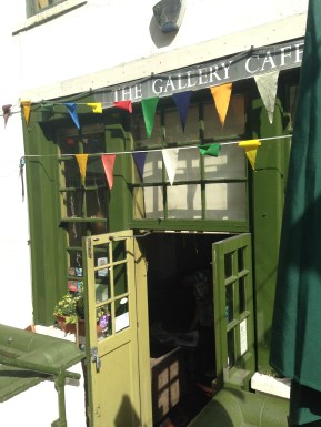 The Gallery Cafe's hidden entrace.