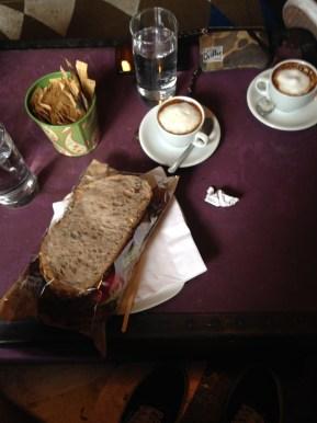 Breakfast at Cafe Maloka.