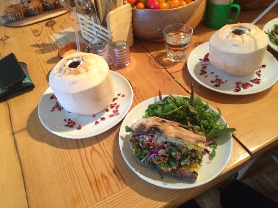 Wild Food Cafe, Convent Garden.
