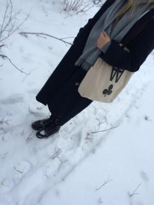 Daisy's winter attire.
