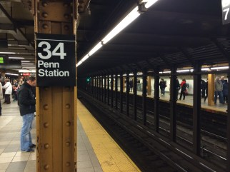 34 Penn Station, NYC.