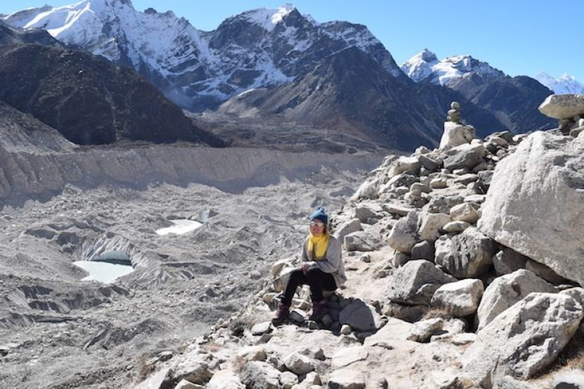 Khumbu Glacier, EBC Trek, Mount Everest Base Camp, Everest Base Camp Trek, Trekking to Mount Everest Base Camp, CHAPTERTRAVEL, Everest Region, adventure travel, Our trek to the Mount Everest Base Camp