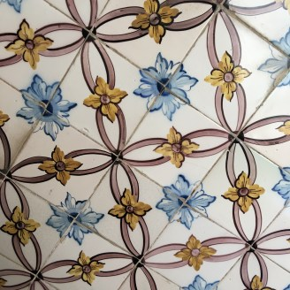Tile on the wall