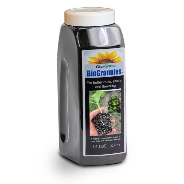 CharGrow BioGranules 32oz bottle image on white background