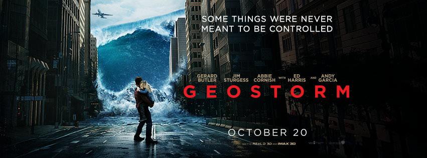 Movie, Geostorm(美國) / 氣象戰(台) / 全球风暴(中) / 人造天劫(港), 電影海報, 美國, 橫版