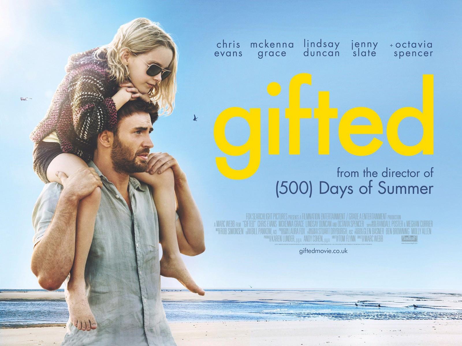 Movie, Gifted(美國, 2017年) / 天才的禮物(台灣) / 天才少女(中國) / 天賦的禮物(香港), 電影海報, 美國, 橫版