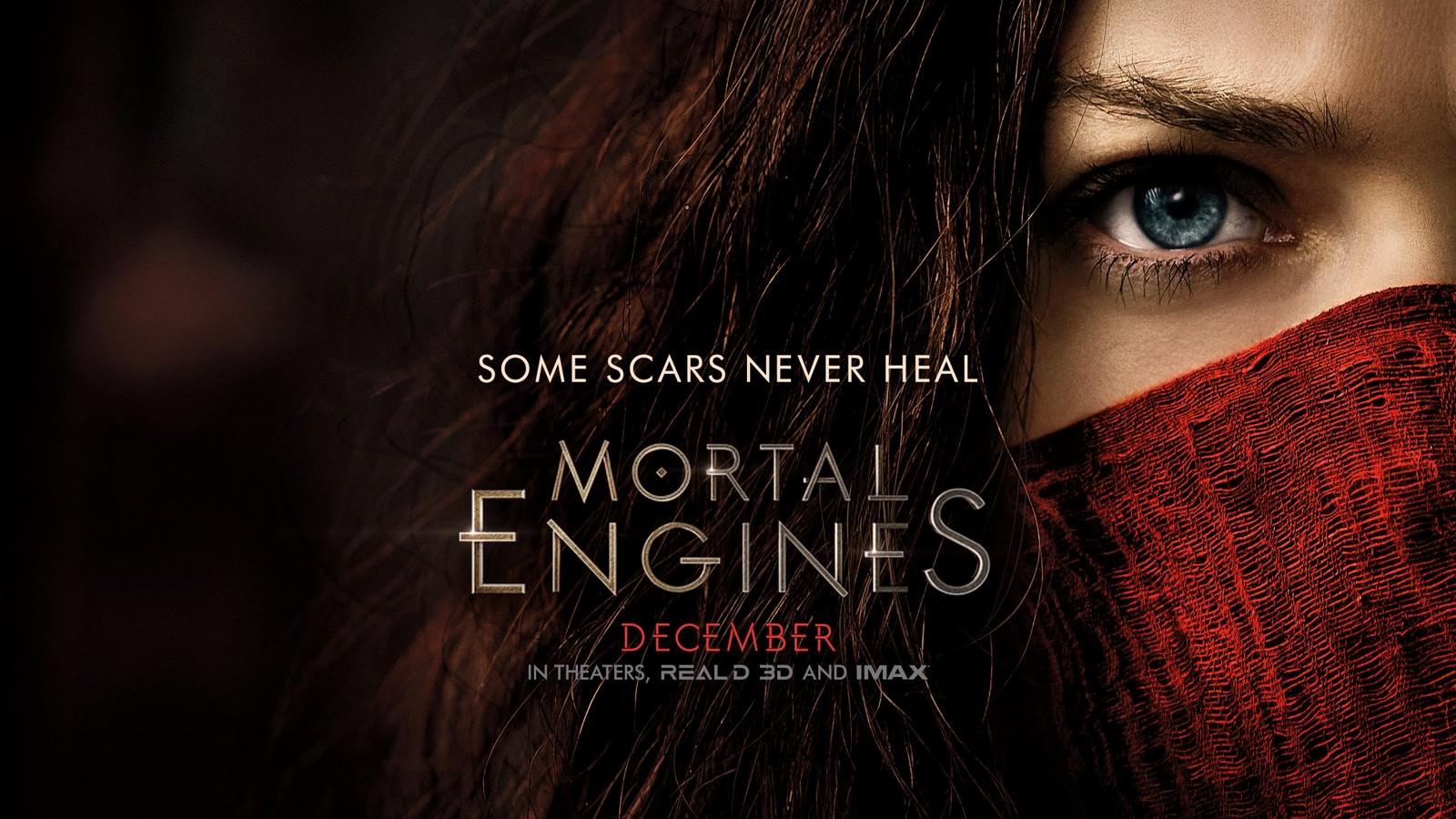 Movie, Mortal Engines(美國, 2018年) / 移動城市:致命引擎(台灣.香港) / 掠食城市(網路), 電影海報, 美國, 橫版