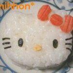 簡単★キティちゃんおにぎり – かわいいハローキティ弁当