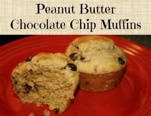 peanut-butter-chocolate-chip-muffins