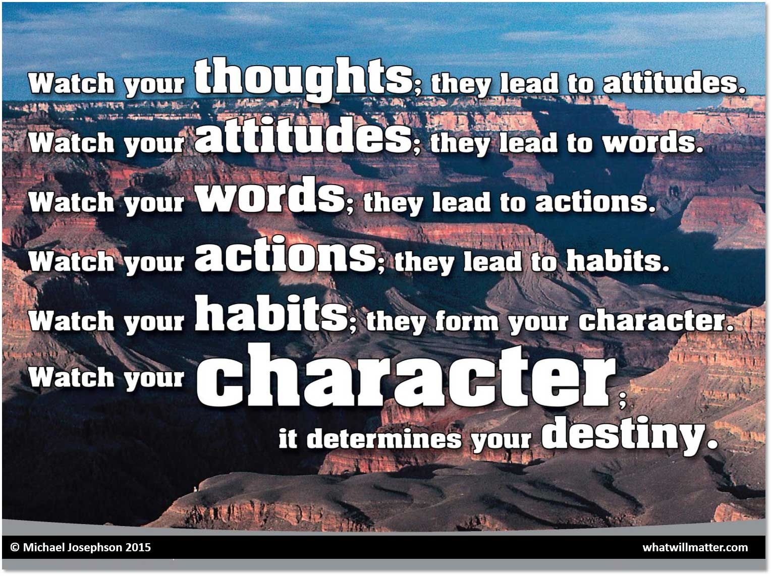 Greatest Quotes On Character Reputation And Character