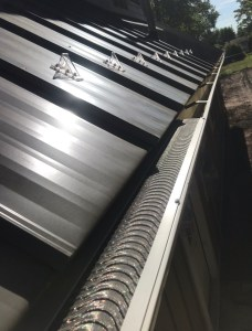 Metal Roofing with Valor Gutter Guard