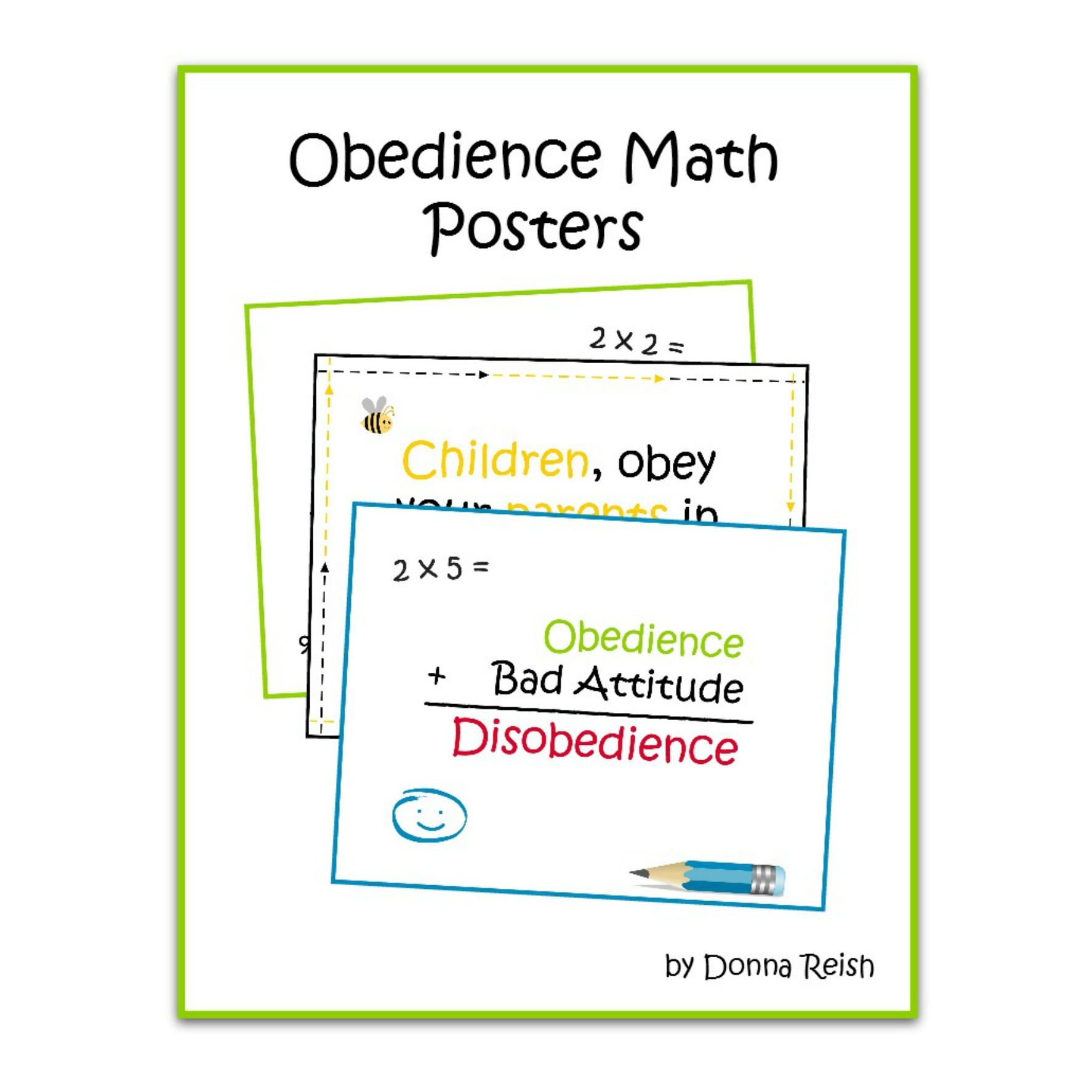 Obe Nce Math Printable Poster Pack
