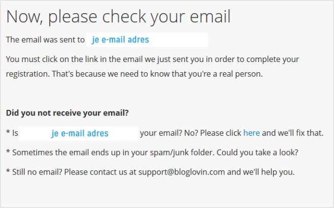 Check je e-mail inbox