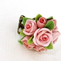 Rose ring © Joyloveclay