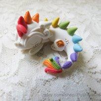 Rainbow dragon © PlushlikeCreatures