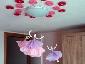 Papieren ballerina's 05