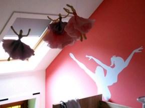 Papieren ballerina's 06