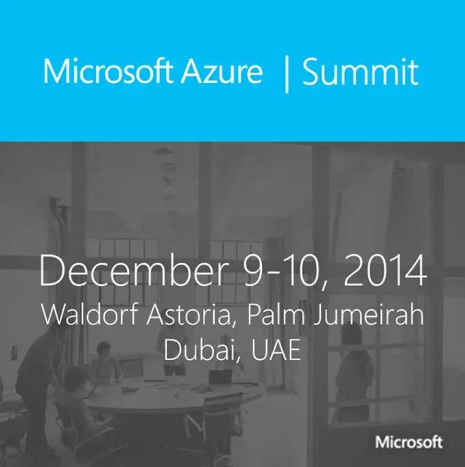 Microsoft Azure Summit