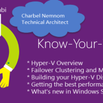 Announcing The 6th Know-Your-Tech Session Focused on #HyperV #Azure #Microsoft #WS2016