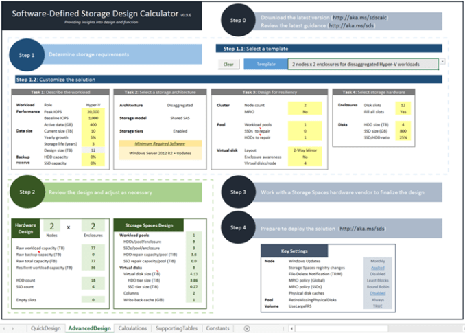 Software-Defined Storage Design Calculator03
