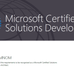 End of The Year 2015 With Last Microsoft Exam: MCSD – Azure Solutions Architect #Azure #Microsoft #CloudArchitect