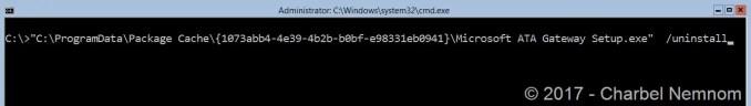 Uninstall-ATA-ServerCore-10
