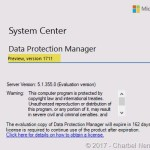 What's New in System Center Data Protection Manager – Preview 1711 #DPM #SCDPM #SysCtr