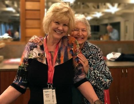 Elaine Swyt & Shirley Hoem, Volunteers